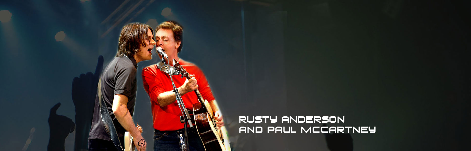 Rusty Anderson And Paul Mccartney