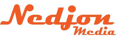 Nedjon Media Logo - Coloured Transparent