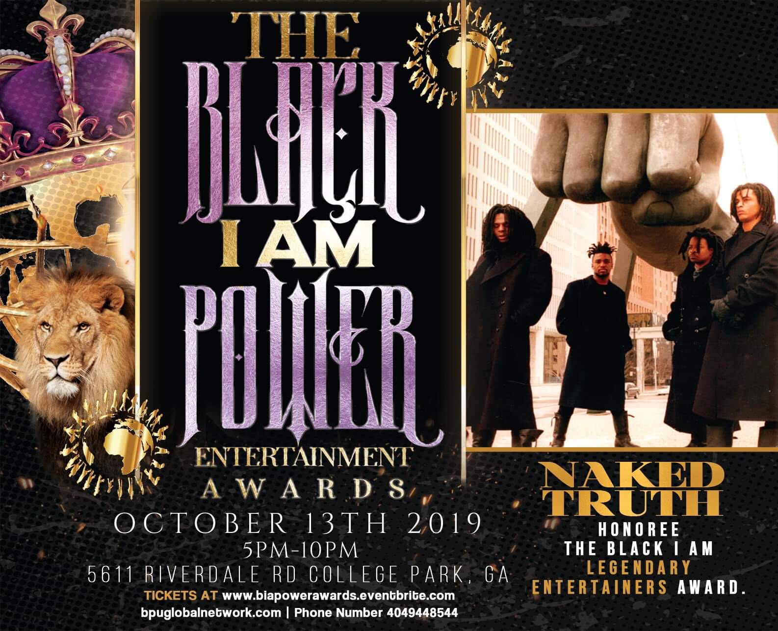 naked truth black i am award