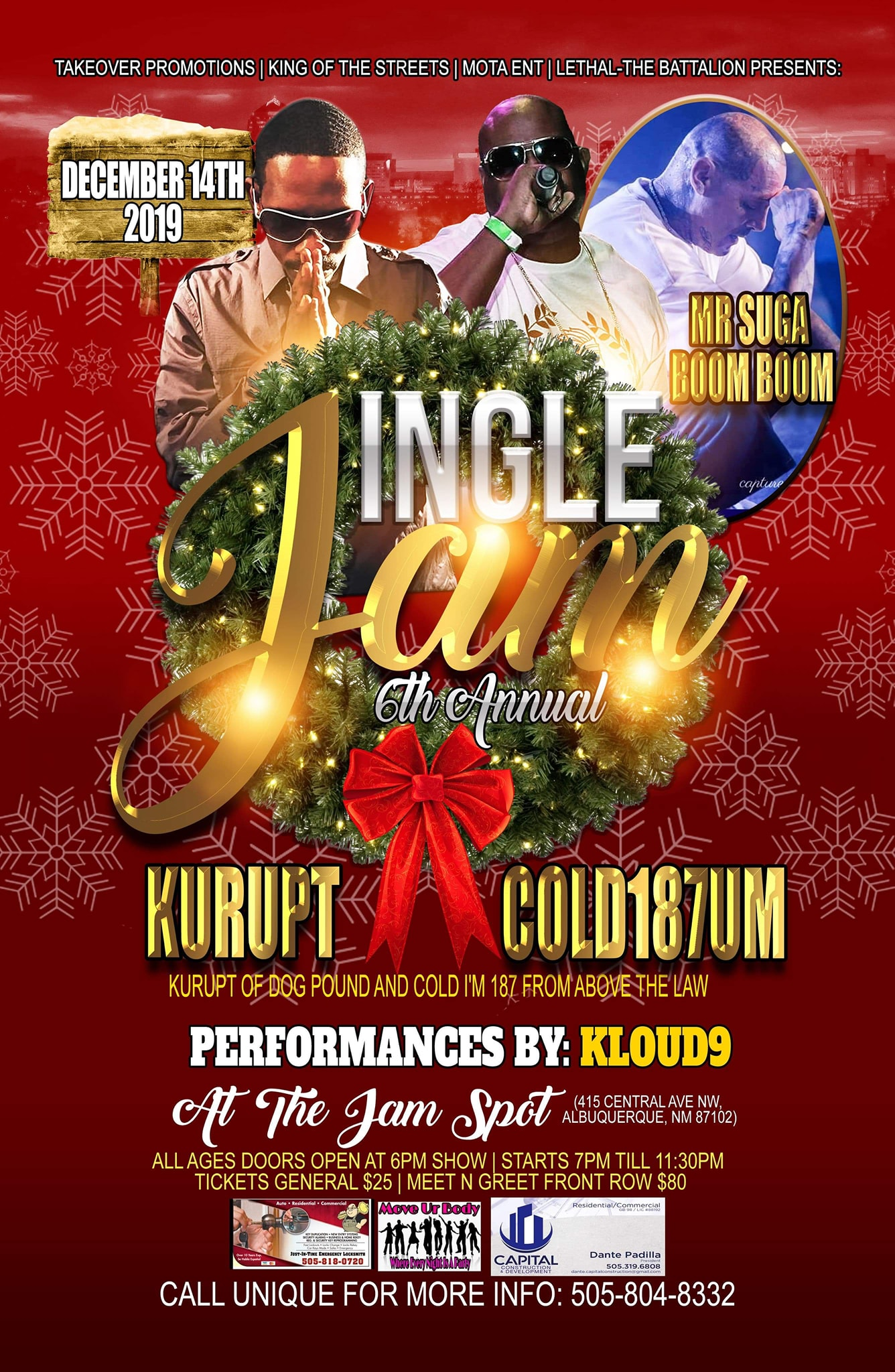 6th annual jingle jam