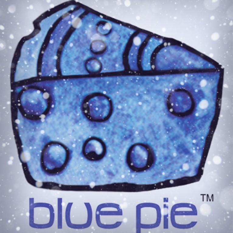 blue pie snow