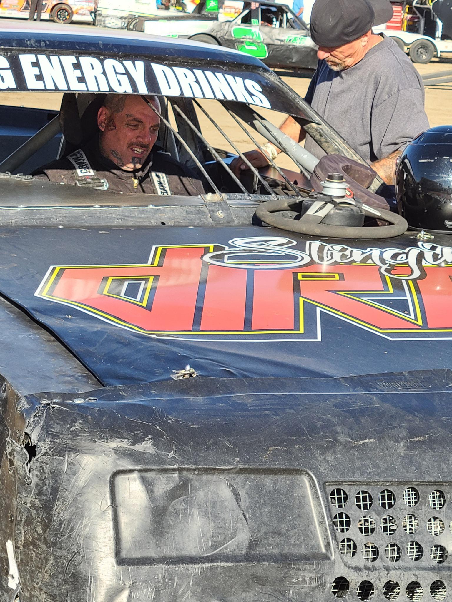 down3r in race car